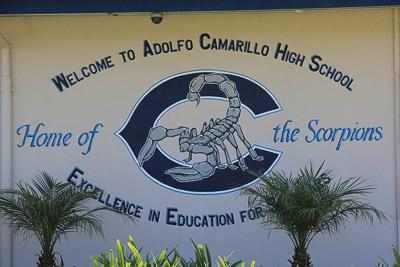 Camarillo High School Map Camarillo High School